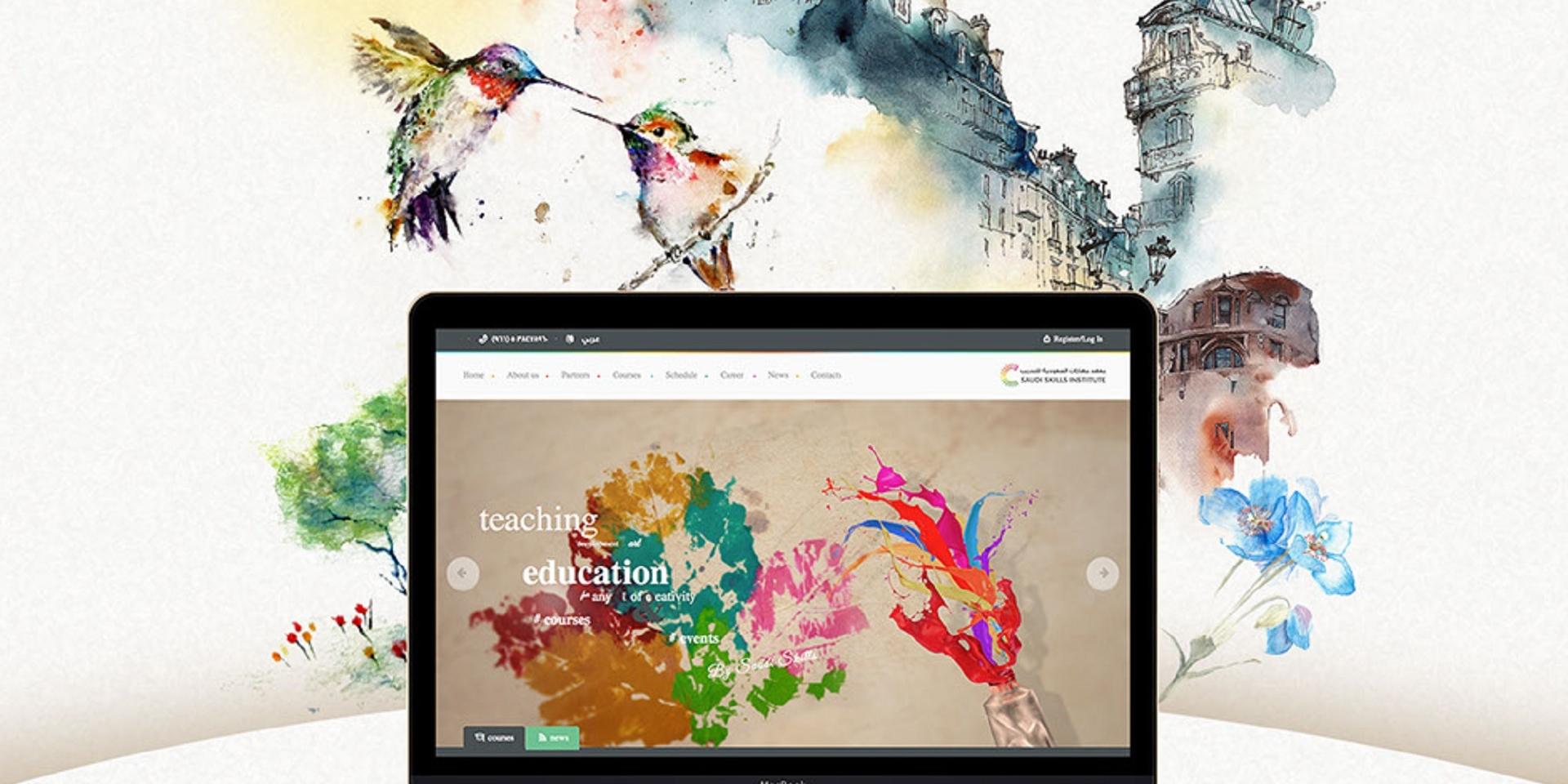 Saudi Skills Website